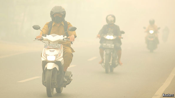 More haze, less speed