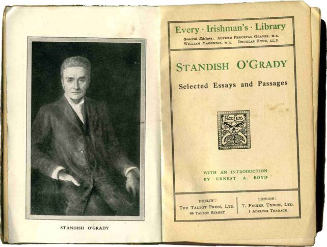 Image result for standish o grady history of ireland