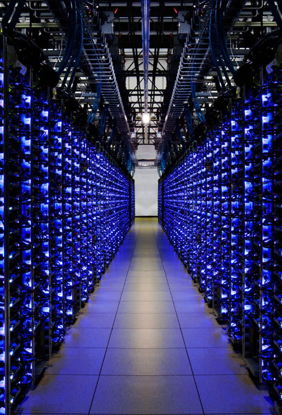 Google data center in Georgia.