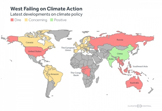 Climate Policy & Action Map