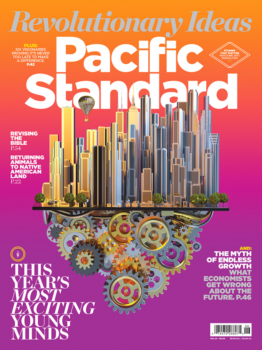 A version of this story originally appeared in the May/June 2017 issue of Pacific Standard. Subscribe now and get eight issues/year or purchase a single copy of the magazine.