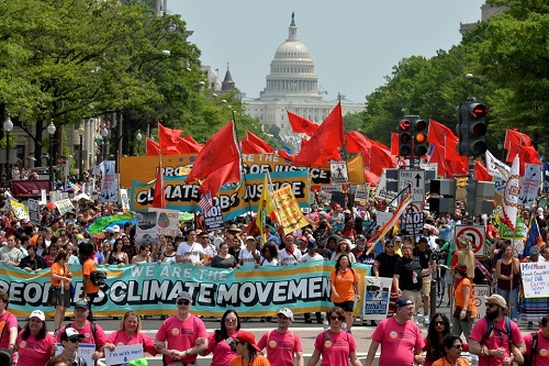 Peoples Climate March Washington DC