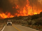After France and Portugal Spain battles forest fire