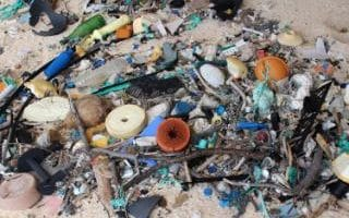 Although recycling does little to help emissions compared to cutting down on flying, it does prevent plastic ending up in the ocean
