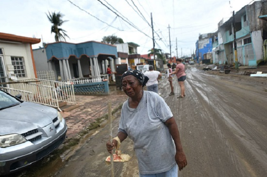 Puerto Rico Aftermath of Hurricane Maria