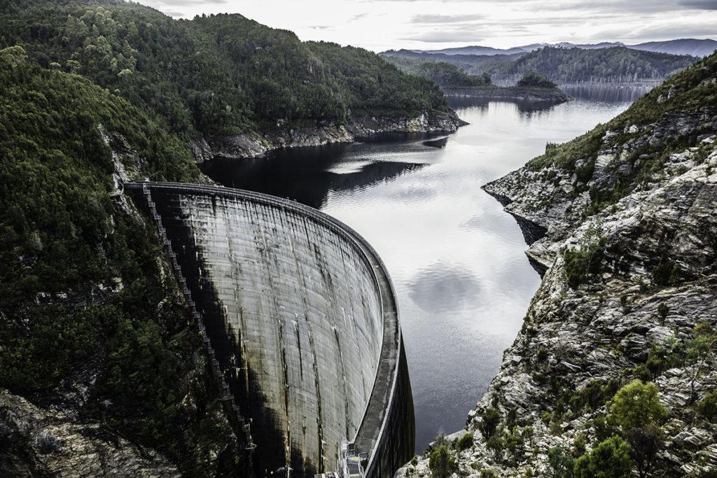 Gordon Dam, Southwest National Park