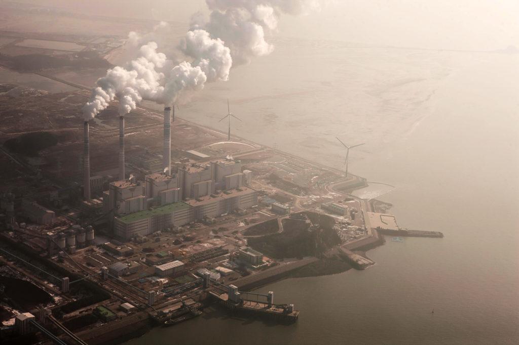 Power plant near Incheon Airport, South Korea. Credit: Westend61 GmbH / Alamy Stock Photo. E82GTX