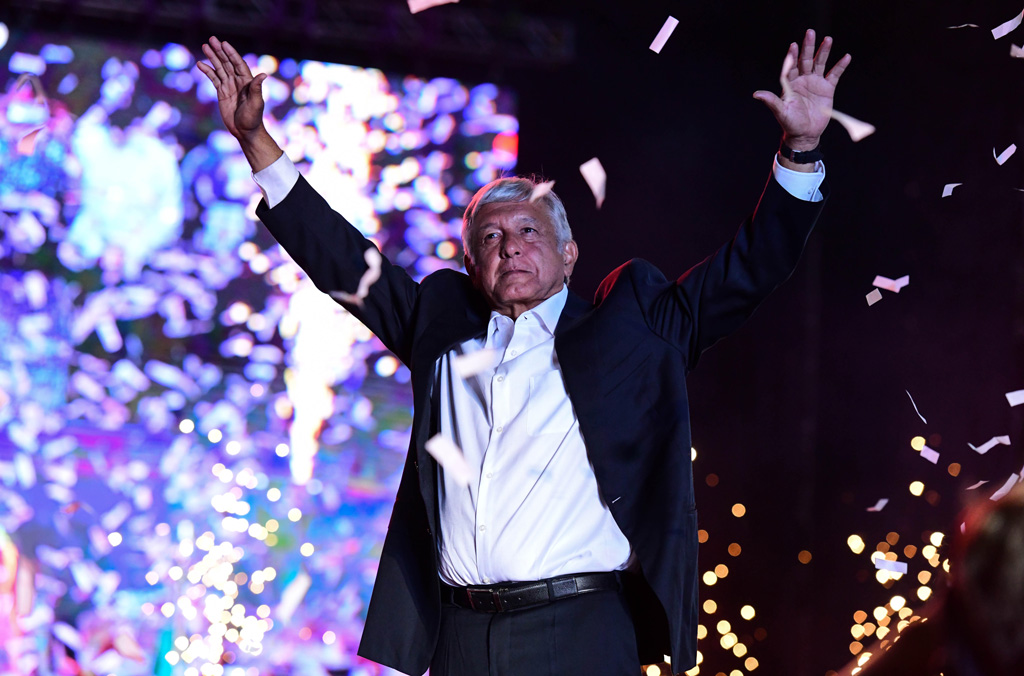 Presidential-candidate-Manuel-Lopez-Obrador-speaks-at-his-closing-rally