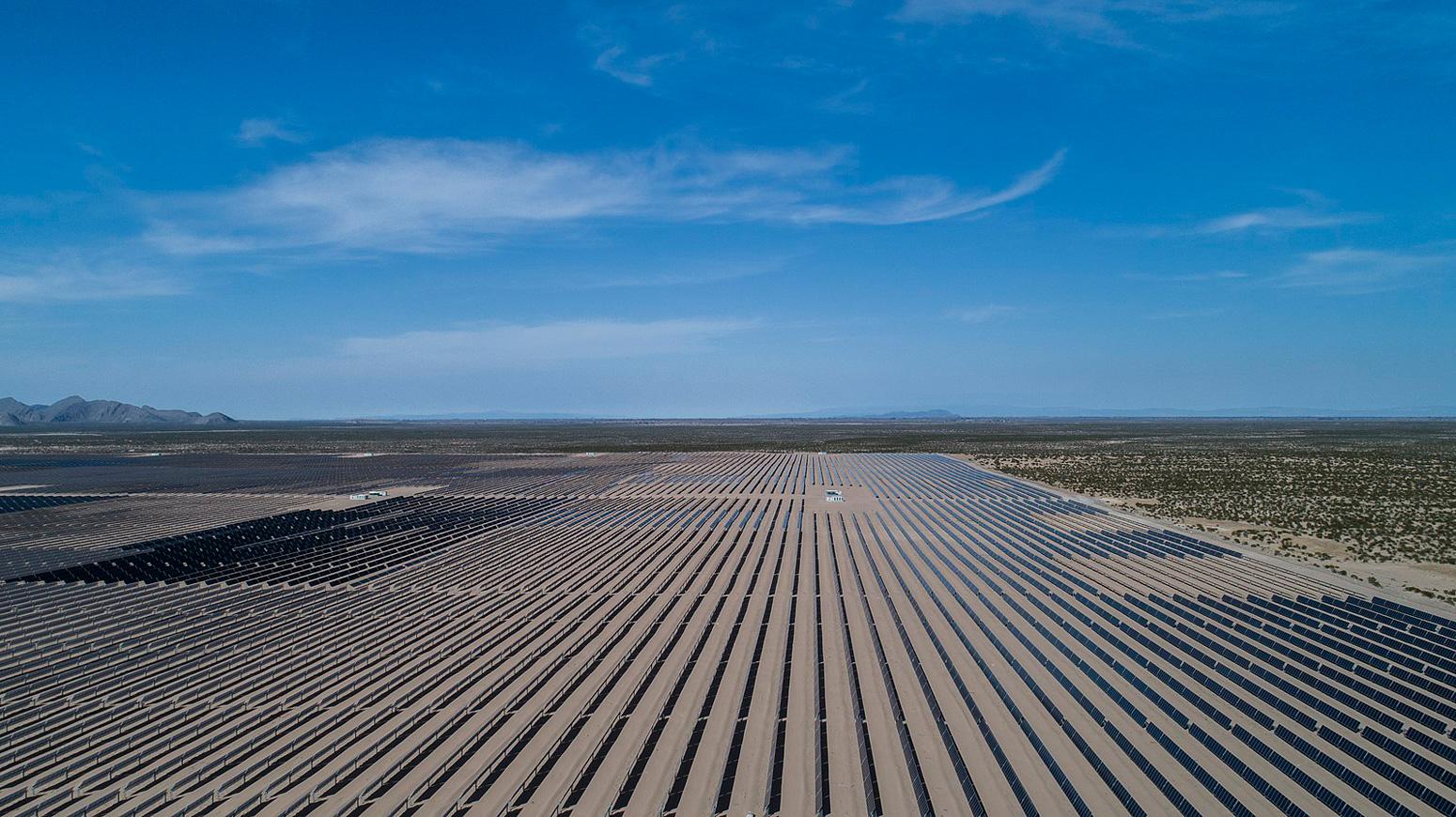 Villanueva Solar Plant, Coahuila