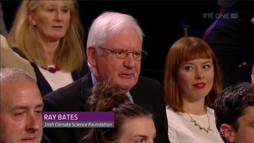 Ray Bates on the Claire Byrne Show Photo: RTE
