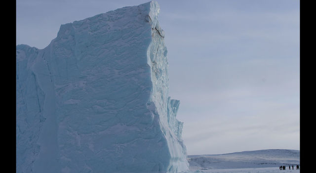 slide 2 - A large iceberg near Thule Air Base, Greenland