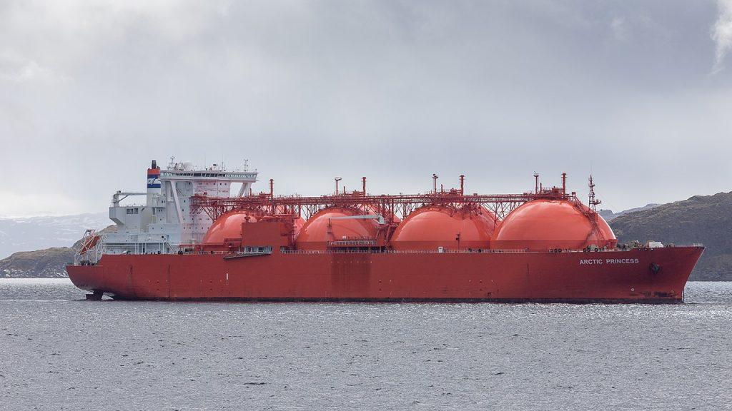 LNG Tanker Photo: Joachim Kohler Bremen